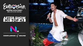 2008 Eurovision Song Contest | My Top 43