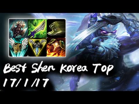 Best Shen Korea Top vs Fiora   Korea High Elo