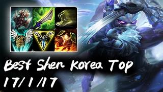 Best Shen Korea Top vs Fiora | Korea High Elo