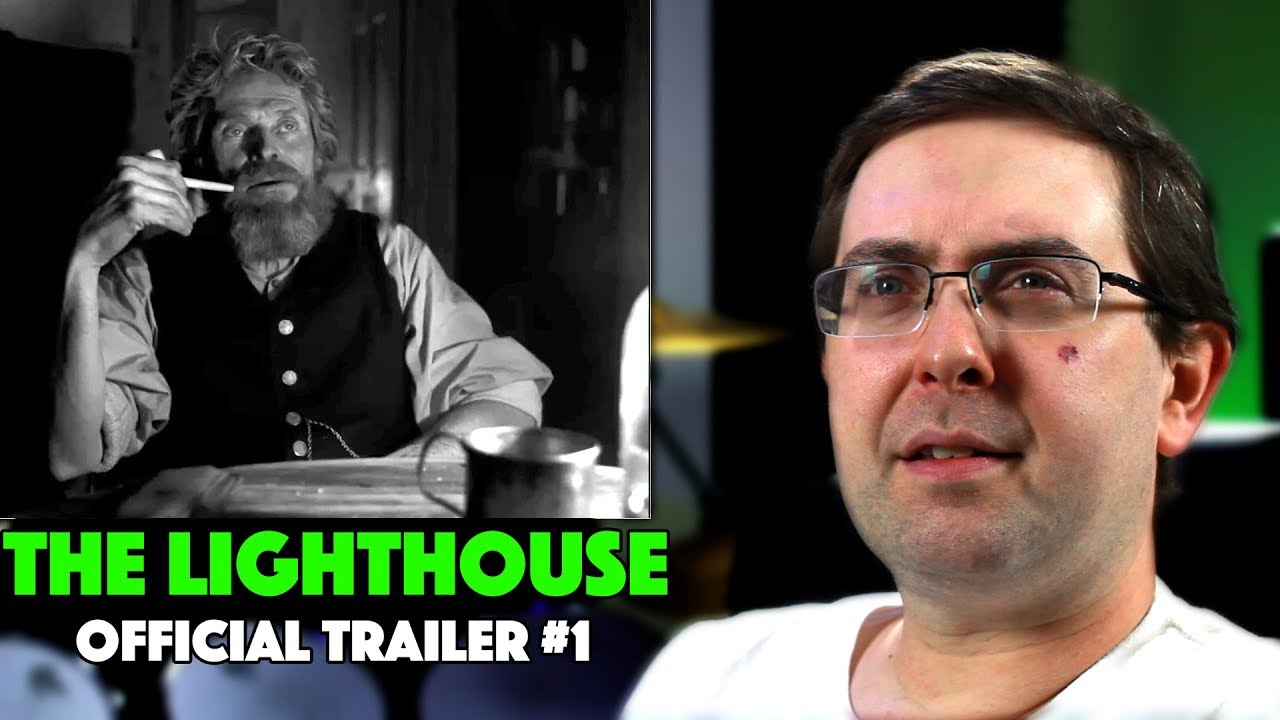 REACTION! The Lighthouse Trailer #1 - Robert Pattinson A24 Movie 2019