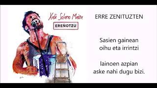XABI SOLANO - ERRE ZENITUZTEN - (Lyric video) YouTube Videos