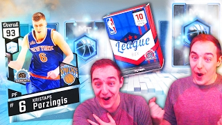 NBA 2K17 My Team PULLED DIAMOND KRISTAPS PORZINGIS! LIMITED EDITION DIAMOND PULL EPIC REACTION!