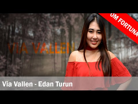 Via Vallen - Edan Turun (Lirik + Translate Indonesia)