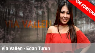 Video Via Vallen - Edan Turun (Lirik + Translate Indonesia) download MP3, 3GP, MP4, WEBM, AVI, FLV Mei 2018