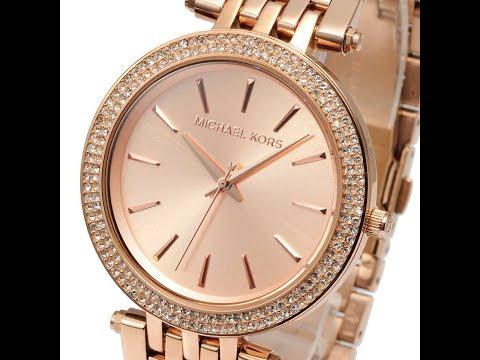 368514031447 MICHAEL KORS WATCH MK3192 DARCI ROSE GOLD WATCH REVIEW WOMENS MK3192  マイケル・コース 腕時計 ローズ ゴールド レビュー