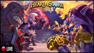 🔴 [LIVE] HEARTHSTONE - TESTANDO A STREAM NEGRADA !!