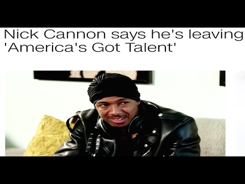 Professor Griff- Nick Cannon Quits 'America's Got Talent' and Exposes the 'Industry'