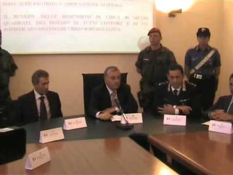 Arresto latitante Francesco Pesce. La conferenza stampa