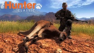 THE HUNTER CLASSIC - A CACCIA DI CANGURI IN AUSTRALIA - GAMEPLAY ITA