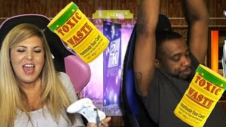 WORST SOUR CHALLENGE EVER! Amethyst PULLED! NBA 2k16 MyTeam Pack Opening