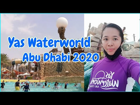 Yas Waterworld Abu Dhabi 2020 | Exploring Abu Dhabi 2020