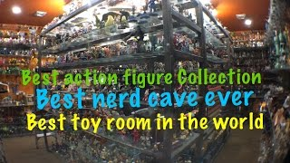Action Figure Collection Best  Nerd Cave Toy Room Review
