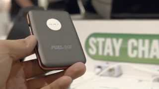 Patriot Fuel Ion Wireless Charging System - CTIA 2014