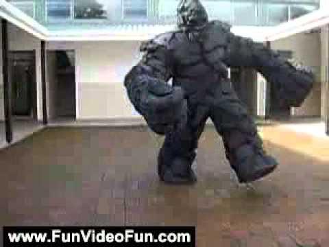 Stone Golem Costume - Funny Videos