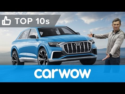 Best new cars revealed at the 2017 Detroit Auto Show Top 10s