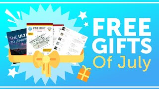 FREE French Gifts of July 2018