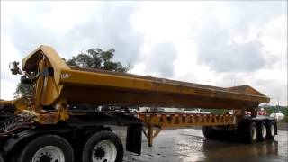 2012 Trail King TK60SSD-433 side dump trailer for sale | sold at auction October 8, 2015