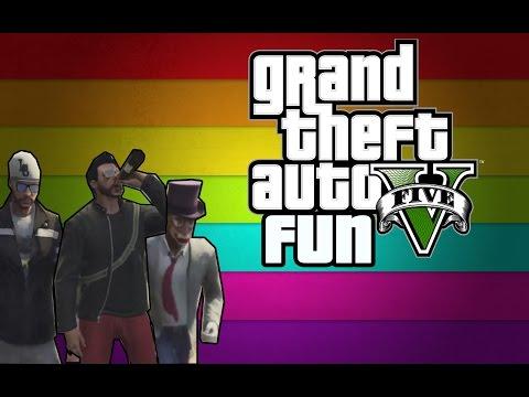 The GTA Crazy Guy! (GTA V Funny Moments Gameplay)