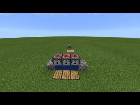 Как сделать TNT пушку в Minecraft PE 0.15.6/0.16.0! Механизм! Без модов!