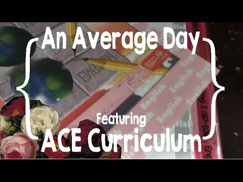 An Average Day (feat. Accelerated Christian Education [ACE] curriculum)