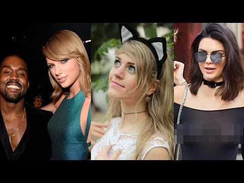Taylor Swift & Kanye West Feud Real? Marina Joyce Theories & Kendall Jenner Braless!