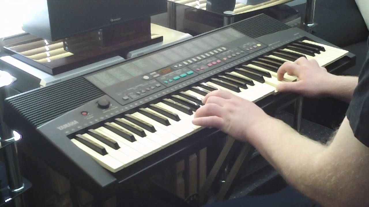 Yamaha psr 215 keyboard 100 sounds features part 1 2 for Yamaha keyboard parts