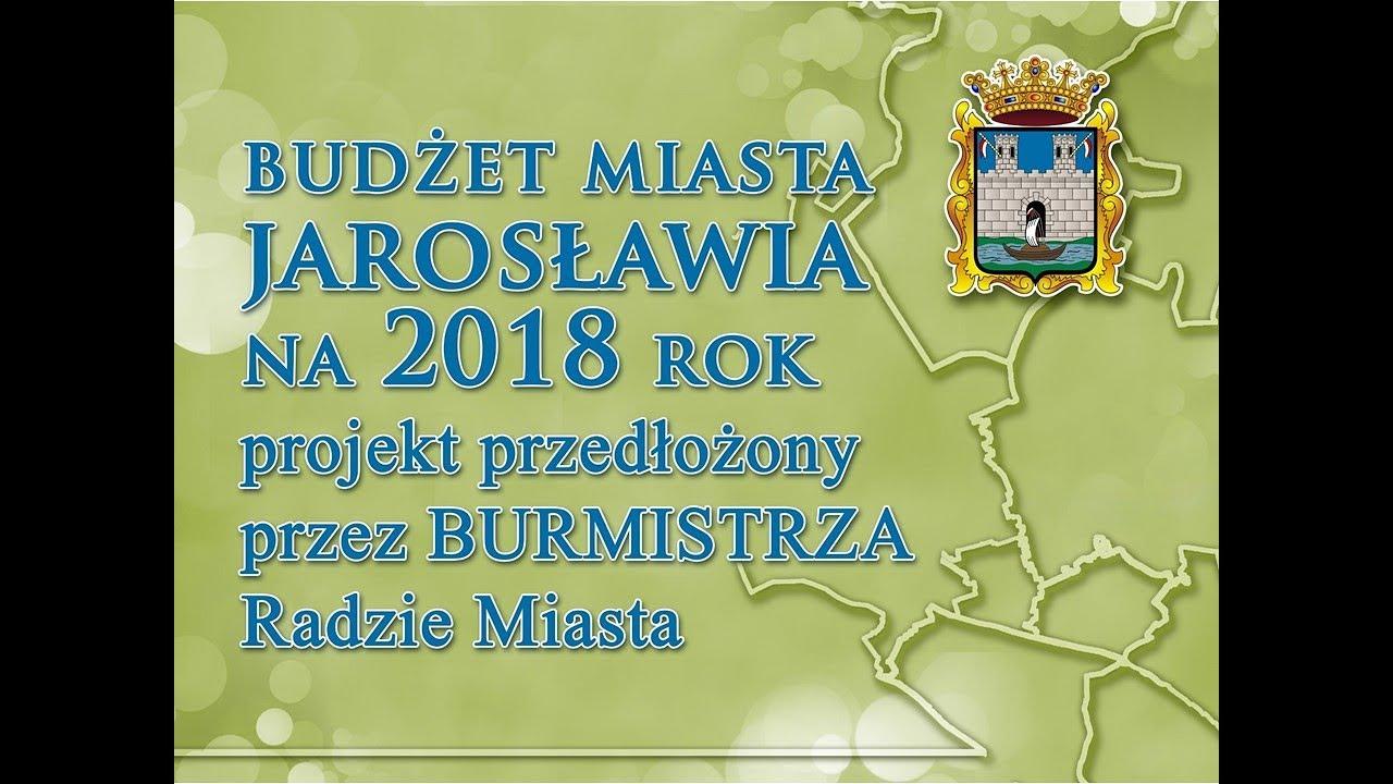 KONFERENCJA PRASOWA BURMISTRZA MIASTA JAROSŁAWIA