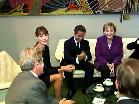 Sommet/ONU: Sarkozy et Merkel fument le calumet de la paix