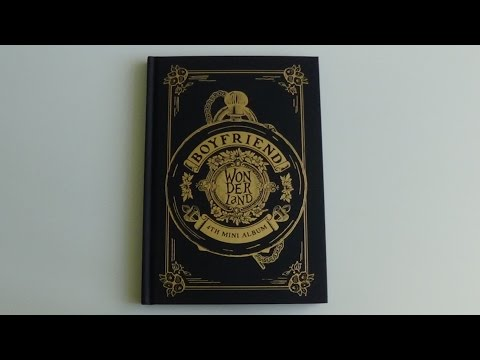 Unboxing Boyfriend 보이프렌드 4th Mini Album Boyfriend in Wonderland