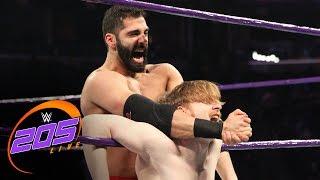 "Jack Gallagher vs. Ariya Daivari ""I Forfeit"" Match: WWE 205 Live, Jan. 17, 2017"