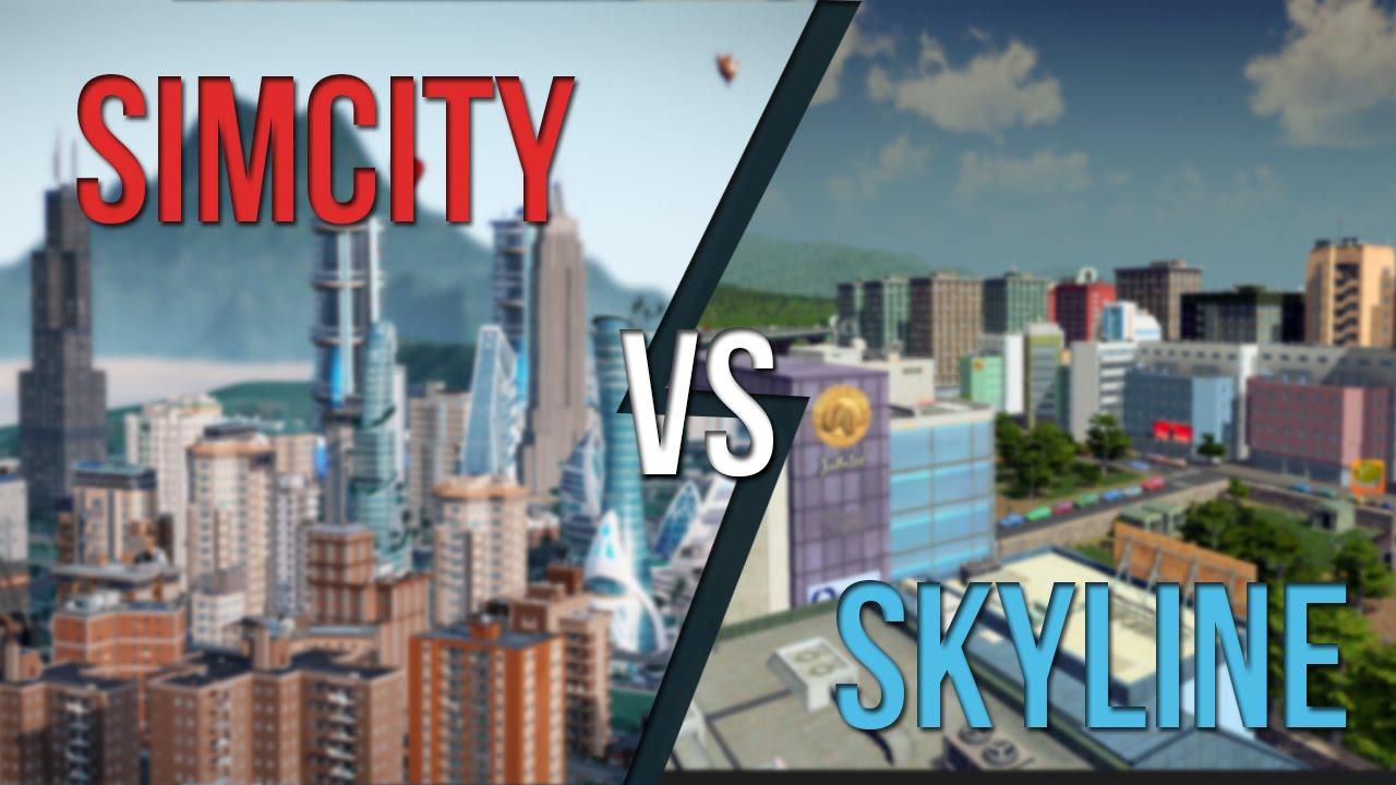 cities skyline vs simcity 2013 an honest comparison youtube