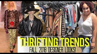Thrifting Trends | Thrift With Me Fall Fashion Trends 2018 | Trends Report