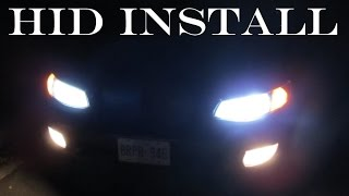 HID Headlight Install: Toyota Solara