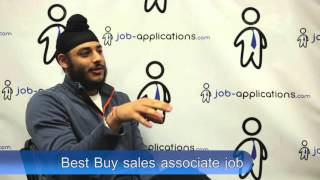 Best Buy Interview - Sales Associate