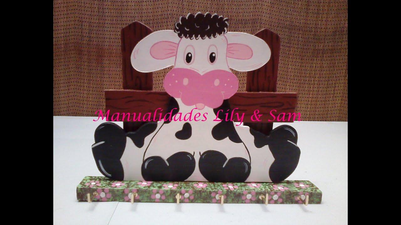 Como hacer un porta cubiertos de madera mdf vaca country - Cosas de madera para hacer ...