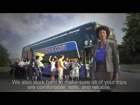NEW Megabus Welcome Aboard Video
