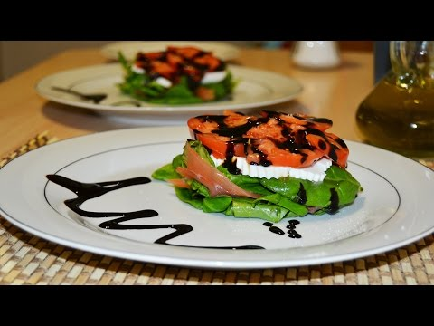 Smoked Salmon Salad - Easy & Simple Salmon Salad Recipe