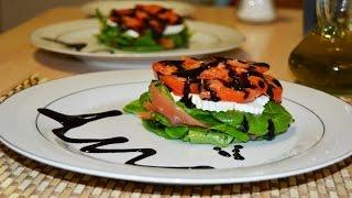 Smoked Salmon Salad - Easy & Simple Salmon Salad Recipe
