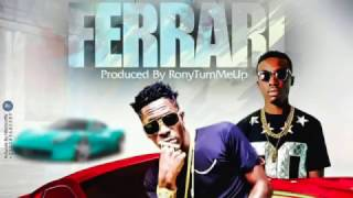Shatta Wale - Ferrari ft. Criss Waddle (Audio Slide)