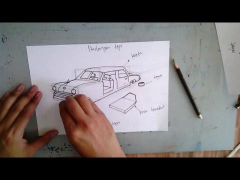 Soalan SPM Pendidikan Seni Visual 2018( cara melukis objek-objek dari soalan 3 & 6 )