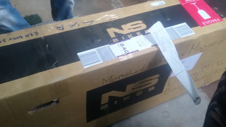 Unboxing NS Bikes Dirt Jumper Frame for the first time in Bangladesh