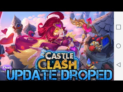 Castle Clash: Valentina Gameplay + Update Review!!!!