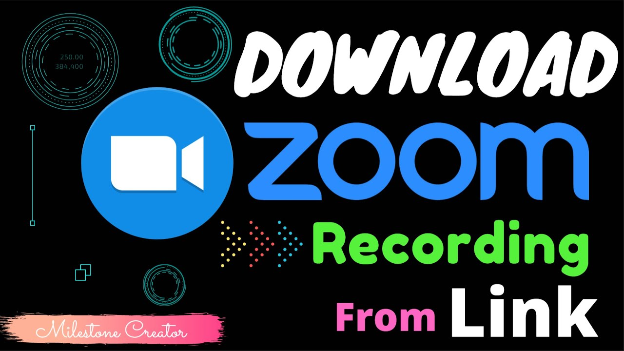 How To Download ZOOM Recording From Shared Link (Works In ...