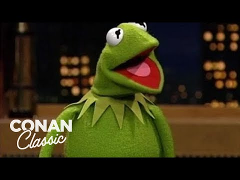 "Conan Interviews Kermit The Frog - ""Late Night With Conan O'Brien"""