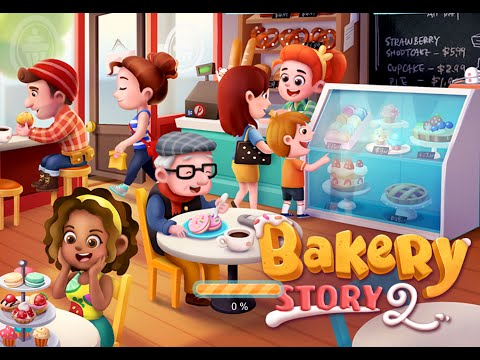 BAKERY STORY 2 - iOS / Android Gameplay Trailer