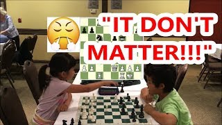 Never Underestimate A Cute Little Girl Playing Chess!