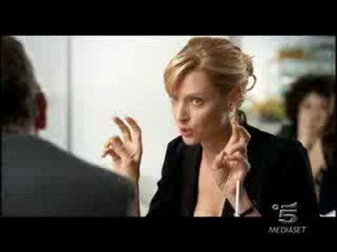 My commercial with Hugh and Uma