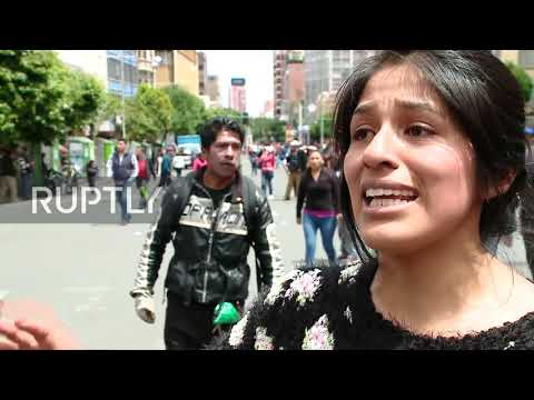 Bolivia: Morales supporters flood La Paz in protest of interim government