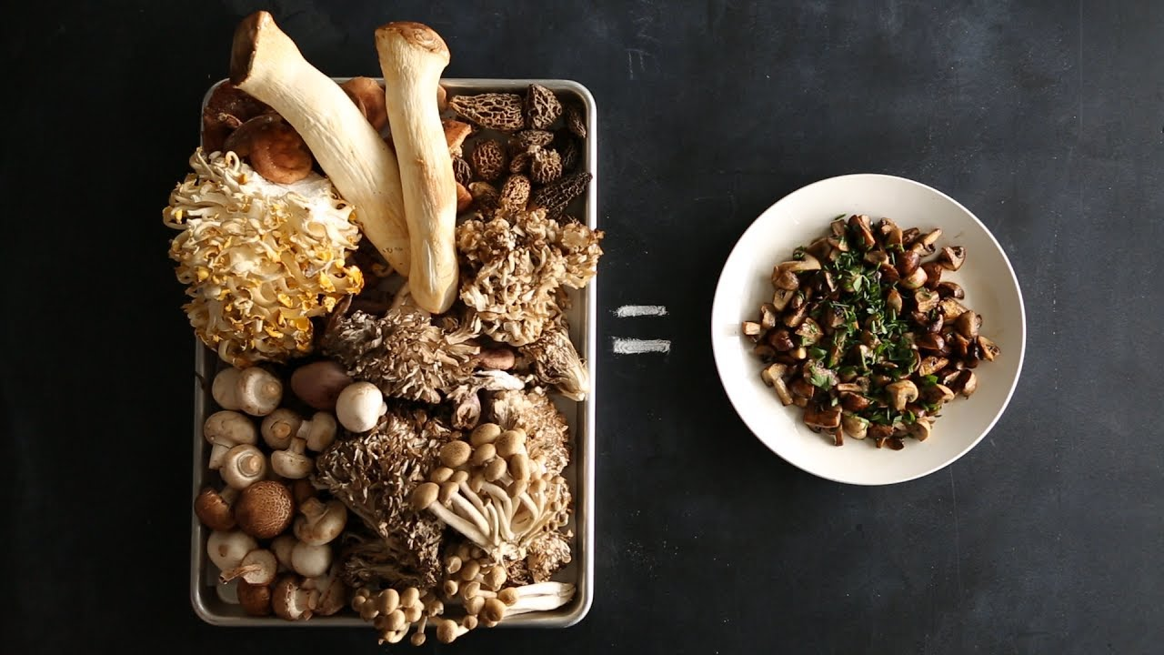 The Trick to Making Golden Brown Mushrooms Every Time- Kitchen Conundrums  with Thomas Joseph