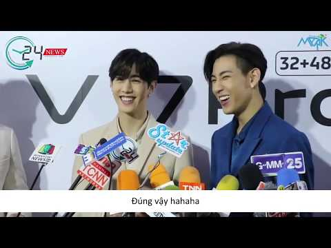 [CharisMark][Vietsub] 190930 Vivo V17 Pro Launch Interview (GOT7 Mark & Bambam)
